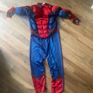 Marvel Spider-Man costume with web wings size medi